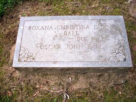 "BALL, OSCAR JOHN, SR ""JOHN"" - Newton County, Missouri | OSCAR JOHN, SR ""JOHN"" BALL - Missouri Gravestone Photos"