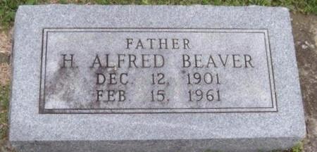 BEAVER, HUBERT ALFRED - Newton County, Missouri | HUBERT ALFRED BEAVER - Missouri Gravestone Photos
