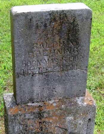 BOEHNING, RALPH N - Newton County, Missouri | RALPH N BOEHNING - Missouri Gravestone Photos