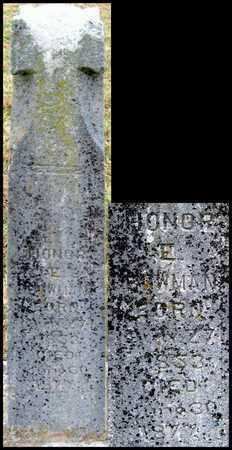 BOWMAN, HONOR E - Newton County, Missouri | HONOR E BOWMAN - Missouri Gravestone Photos
