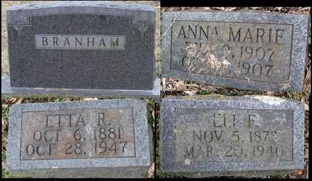BRANHAM, ETTA R - Newton County, Missouri | ETTA R BRANHAM - Missouri Gravestone Photos