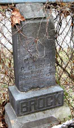 HOKIT BROCK, MARY A - Newton County, Missouri | MARY A HOKIT BROCK - Missouri Gravestone Photos