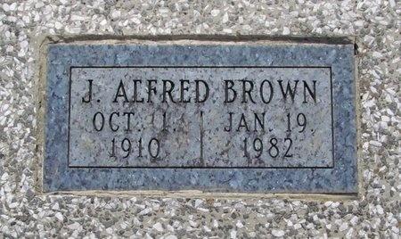 BROWN, JAMES ALFRED - Newton County, Missouri | JAMES ALFRED BROWN - Missouri Gravestone Photos