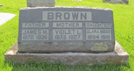 BROWN, JAMES MONROE - Newton County, Missouri   JAMES MONROE BROWN - Missouri Gravestone Photos