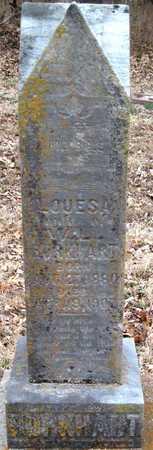 BURKHART, LOUESA - Newton County, Missouri | LOUESA BURKHART - Missouri Gravestone Photos