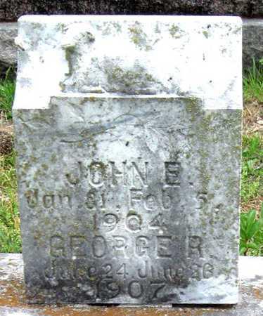 BUSHNER, JOHN E - Newton County, Missouri | JOHN E BUSHNER - Missouri Gravestone Photos