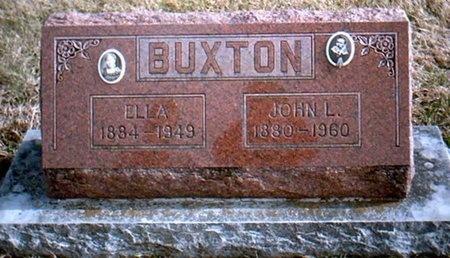 BUXTON, LOU ELLA - Newton County, Missouri | LOU ELLA BUXTON - Missouri Gravestone Photos