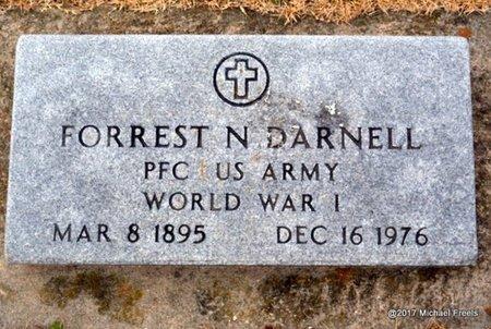 DARNELL, FORREST N. VETERAN WWI - Newton County, Missouri | FORREST N. VETERAN WWI DARNELL - Missouri Gravestone Photos