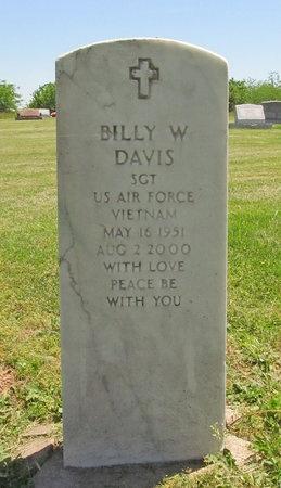DAVIS, BILLY W (VETERAN VIET) - Newton County, Missouri   BILLY W (VETERAN VIET) DAVIS - Missouri Gravestone Photos