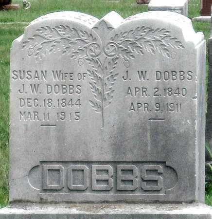 DOBBS, SUSAN - Newton County, Missouri | SUSAN DOBBS - Missouri Gravestone Photos