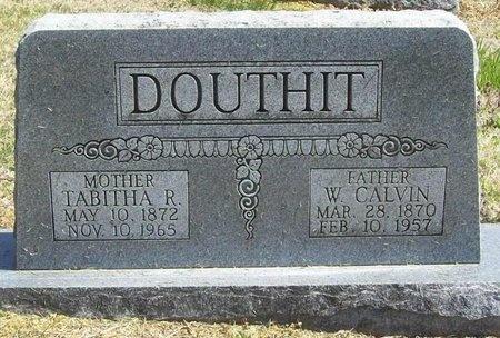 DOUTHIT, TABITHA R. - Newton County, Missouri | TABITHA R. DOUTHIT - Missouri Gravestone Photos