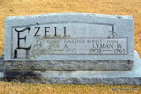 EZELL, LYMAN W. - Newton County, Missouri | LYMAN W. EZELL - Missouri Gravestone Photos
