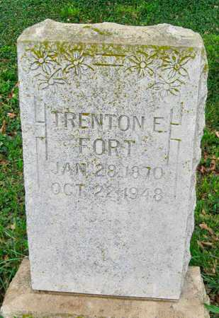 FORT, TRENTON E - Newton County, Missouri | TRENTON E FORT - Missouri Gravestone Photos