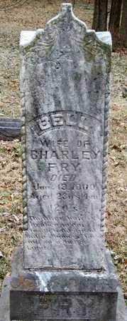 HUBBARD FRY, BELL - Newton County, Missouri   BELL HUBBARD FRY - Missouri Gravestone Photos
