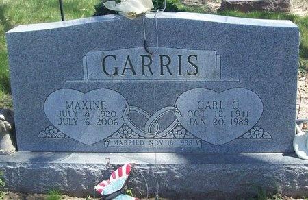 GARRIS, MAXINE - Newton County, Missouri | MAXINE GARRIS - Missouri Gravestone Photos