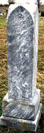 GENTRY, ELISHA - Newton County, Missouri   ELISHA GENTRY - Missouri Gravestone Photos