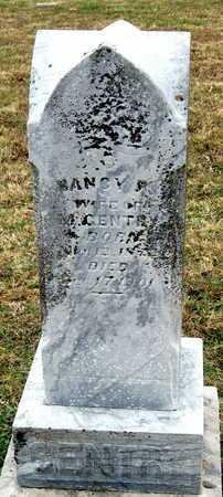 ESTES GENTRY, NANCY PARLEE - Newton County, Missouri | NANCY PARLEE ESTES GENTRY - Missouri Gravestone Photos