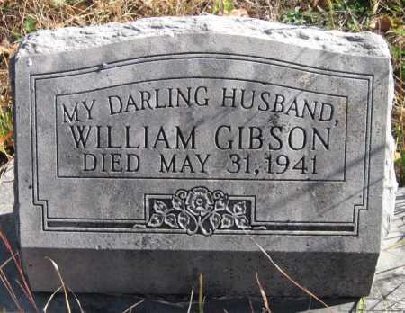 GIBSON, WILLIAM - Newton County, Missouri   WILLIAM GIBSON - Missouri Gravestone Photos