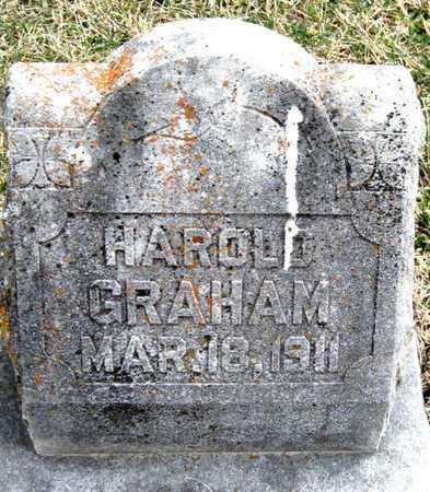GRAHAM, HAROLD - Newton County, Missouri | HAROLD GRAHAM - Missouri Gravestone Photos