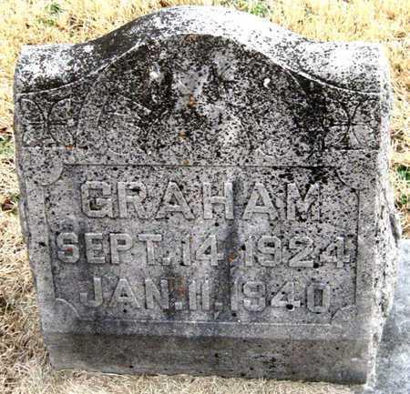 GRAHAM, MAX LAVERNE - Newton County, Missouri | MAX LAVERNE GRAHAM - Missouri Gravestone Photos
