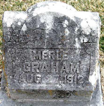 GRAHAM, MERLE - Newton County, Missouri | MERLE GRAHAM - Missouri Gravestone Photos