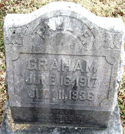 GRAHAM, PAUL E - Newton County, Missouri | PAUL E GRAHAM - Missouri Gravestone Photos