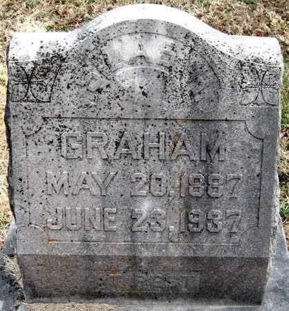 GRAHAM, SILAS H - Newton County, Missouri   SILAS H GRAHAM - Missouri Gravestone Photos