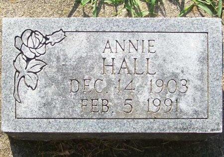 HALL, ANNIE - Newton County, Missouri   ANNIE HALL - Missouri Gravestone Photos