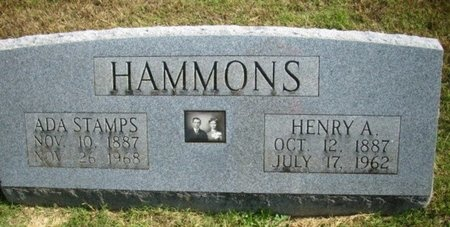 HAMMONS, ADA - Newton County, Missouri   ADA HAMMONS - Missouri Gravestone Photos