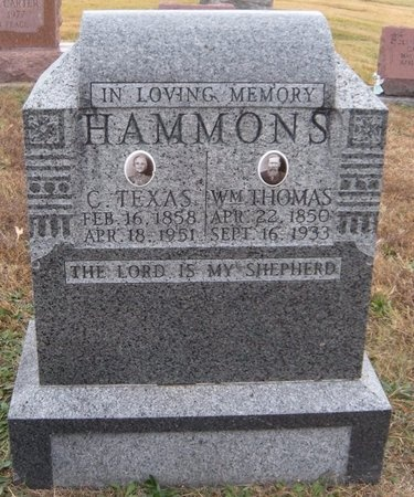 HAMMONS, CAROLINE TEXAS - Newton County, Missouri | CAROLINE TEXAS HAMMONS - Missouri Gravestone Photos
