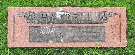 DECKER HARRELL, GERTRUDE C - Newton County, Missouri | GERTRUDE C DECKER HARRELL - Missouri Gravestone Photos