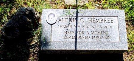 HEMBREE, ALEXIS G - Newton County, Missouri   ALEXIS G HEMBREE - Missouri Gravestone Photos