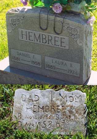 HEMBREE, DANIEL FRANKLIN - Newton County, Missouri | DANIEL FRANKLIN HEMBREE - Missouri Gravestone Photos
