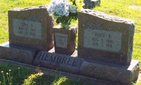 HEMBREE, EDNA B - Newton County, Missouri | EDNA B HEMBREE - Missouri Gravestone Photos