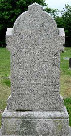 HERSEY, BENJAMIN K JUDGE - Newton County, Missouri | BENJAMIN K JUDGE HERSEY - Missouri Gravestone Photos