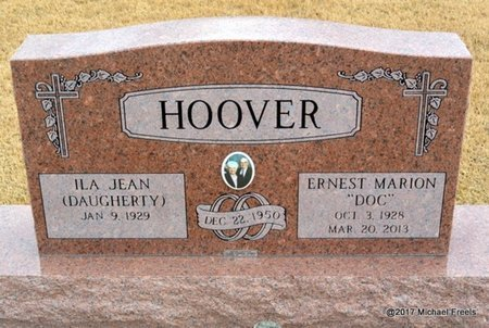 """HOOVER, ERNEST MARION """"DOC"""" - Newton County, Missouri 