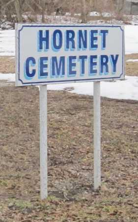 *, HORNET CEMETERY SIGN - Newton County, Missouri | HORNET CEMETERY SIGN * - Missouri Gravestone Photos