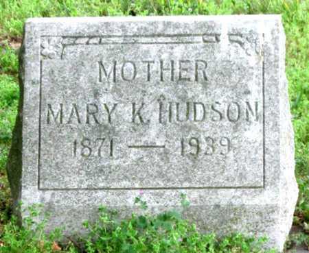 HUDSON, MARIA KATHERINA - Newton County, Missouri | MARIA KATHERINA HUDSON - Missouri Gravestone Photos