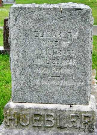 HUEBLER, ELIZABETH - Newton County, Missouri | ELIZABETH HUEBLER - Missouri Gravestone Photos