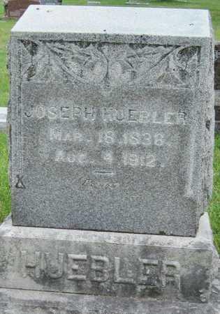HUEBLER, JOSEPH - Newton County, Missouri | JOSEPH HUEBLER - Missouri Gravestone Photos