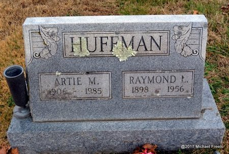 HUFFMAN, ARTIE M. - Newton County, Missouri | ARTIE M. HUFFMAN - Missouri Gravestone Photos