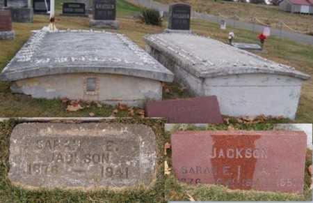 JACKSON, SARAH ELIZABETH - Newton County, Missouri | SARAH ELIZABETH JACKSON - Missouri Gravestone Photos