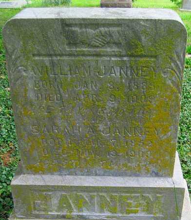 JANNEY, WILLIAM - Newton County, Missouri | WILLIAM JANNEY - Missouri Gravestone Photos