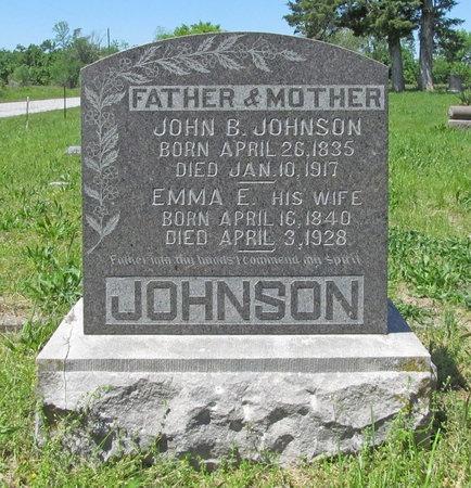 JOHNSON, EMMA E - Newton County, Missouri | EMMA E JOHNSON - Missouri Gravestone Photos