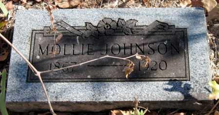 JOHNSON, MOLLIE - Newton County, Missouri   MOLLIE JOHNSON - Missouri Gravestone Photos