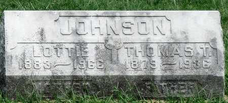 JOHNSON, THOMAS T SR - Newton County, Missouri | THOMAS T SR JOHNSON - Missouri Gravestone Photos
