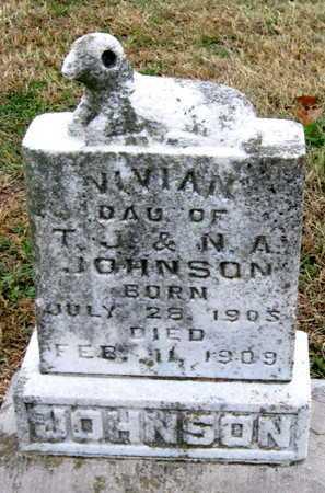JOHNSON, VIVIAN - Newton County, Missouri   VIVIAN JOHNSON - Missouri Gravestone Photos