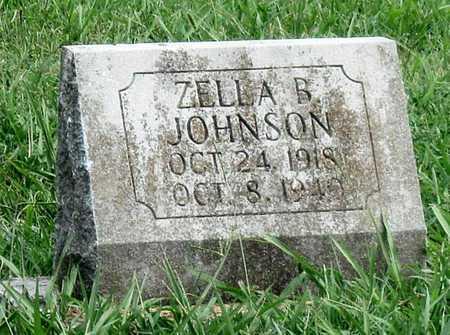 JOHNSON, ZELLA BYRD - Newton County, Missouri | ZELLA BYRD JOHNSON - Missouri Gravestone Photos