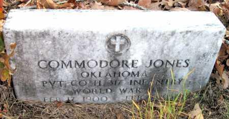 JONES, COMMODORE (VETERAN WWII) - Newton County, Missouri | COMMODORE (VETERAN WWII) JONES - Missouri Gravestone Photos