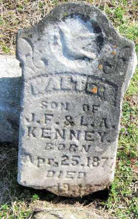KENNEY, WALTER - Newton County, Missouri   WALTER KENNEY - Missouri Gravestone Photos
